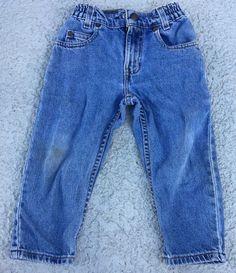 Vintage Toddler LITTLE Levis Jeans Size 4T Unisex ORANGE Tab Pants 566  | eBay