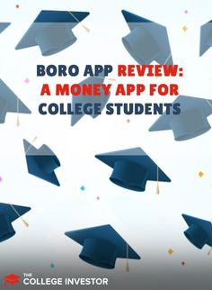 Boro is an app that offers money management tools for college students and loans that don't require credit histories or cosigners. Student Jobs, Student Loan Debt, College Students, Budget Planner App, Budget App, Investing Money, Boro, Make More Money, Money Management