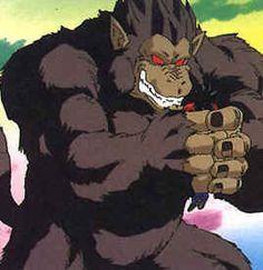 Great ape - Oozaru DBZ