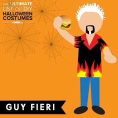 """""""This is Money!""""  Dress up as #GuyFieri for #Halloween.  Learn how to make the DIY Guy Fieri costume +250 other DIY costumes: ecampusdot.com/1MUKey7"""