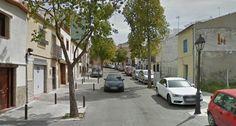 Cortada al tráfico la calle Puerta de Martos por una avería del suministro de agua