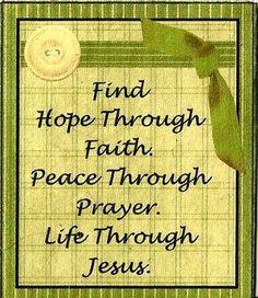 life through Jesus