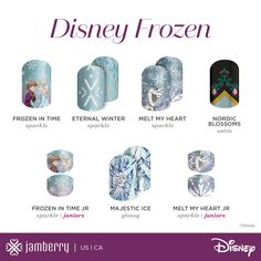 ✨These will be disappearing possibly forever after December 31st.  Shop here before the sell out! You only regret what you don't buy✨ https://nailfetish.jamberry.com/us/en/shop/products/disney-buy-3-get-2-bundle #Disney #nails #holographicnails #disneyfrozen #majesticicejn #Elsa #meltmyheartjn #nordicblossoms #bluenails #glitternails #coffinnails #shortnails #nailart