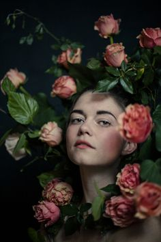 ❀ Flower Maiden Fantasy ❀ beautiful photography of women and flowers - Sam Behymer