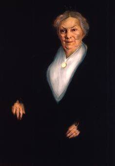 Rebecca Fisher was a charter member of the Daughters of the Republic of Texas and served as its state president for 18 years. She helped Clara Driscoll save the Alamo from destruction and several times gave the opening prayer when the Texas Legislature convened. This portrait was the first of a woman to be hung in the Senate Chamber at the Capitol. Oil on canvas, ca. 1915, by Royston Nave.**