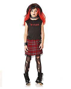 underwraps costumes 80s punk child costume large 14 16 70647197564 80s punk costumes and children costumes - Halloween Punk Costume
