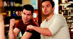 Schmidt and I are the same person. New Girl