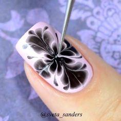 Marble design tutorial by @sveta_sanders