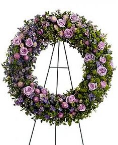 Image detail for -Heavenly Funeral Flowers Wreath | Sayvings.com