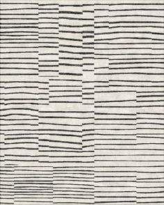 slip stripe black white, robin gray design
