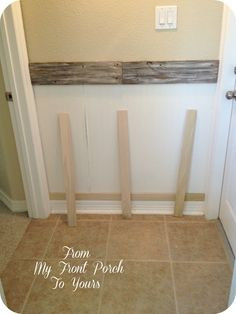 From My Front Porch To Yours Inexpensive DIY Wainscoting