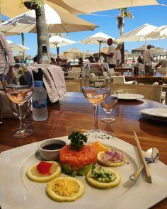 Lunch beach marbella