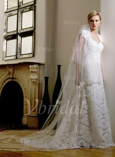 Wedding Dresses - $238.99 - A-Line/Princess Sweetheart Court Train Satin Lace Wedding Dress With Beading (00205000548)