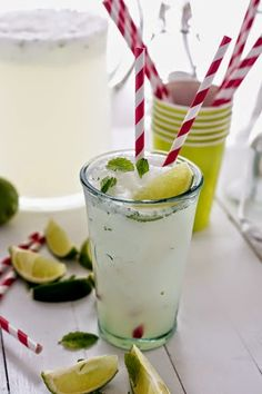 Instant Lime and Mint Granita by theslimduck #Beverage #Granita #Lime #Mint #Quick