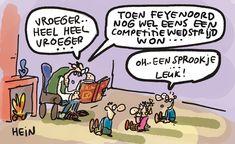 Elke maandag, woensdag en vrijdag een nieuwe grap. Excellence Quotes, Cartoon Jokes, Espn, Funny Quotes, Comics, Rotterdam, Stupid, Netherlands, Holland
