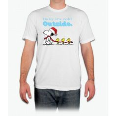 Snoopy And Woodstock Tee - Men T-Shirt