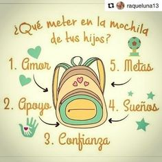 What to put in the backpack of your kids. Zumba Kids, Baby Cinderella, Kids News, Social Studies Activities, Yoga For Kids, Kids Corner, Teaching Spanish, Kids Education, Kids And Parenting