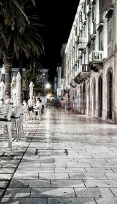 Split, Croatia. I love it there :)