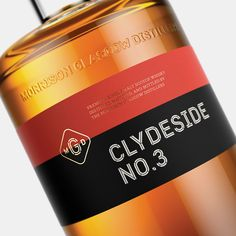 The Clydeside Distillery by Manual. #branding #packaging #design