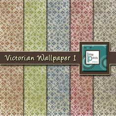 A personal favorite from my Etsy shop https://www.etsy.com/ca/listing/227150009/digital-paper-victorian-wallpaper-1
