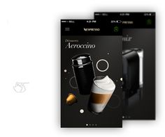 Nespresso IOS7 Concept on Behance