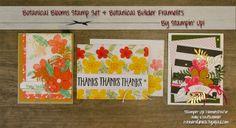 Holly Krautkremer, Botanical Blooms, Botanical Builder, Stampin Up, Stamp Review Crew