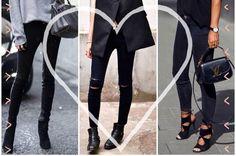 Ne porter que des jeans noirs, c'est totalement possible.