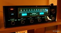 McIntosh analog stereo tuner. Click on photo for more pics and story.