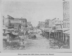Main Street - The first street to receive any sort of surfacing was Main Street, which was macadamized (covered with broken stone) just prior to the Civil War.