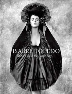 Isabel Toledo: Fashion from the Inside Out by Valerie Steele http://www.amazon.ca/dp/0300145837/ref=cm_sw_r_pi_dp_nws0ub17ZRG40
