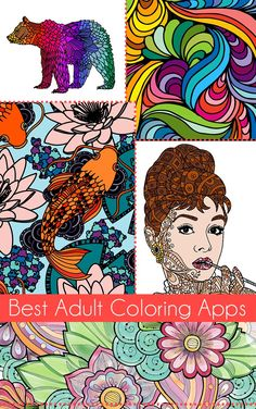 pin by ann proud on adult coloring app pinterest adult coloring - Best Coloring Book App