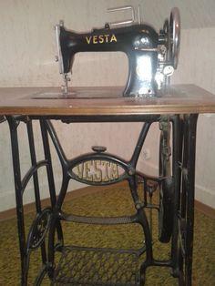Vesta treadle sewing machine