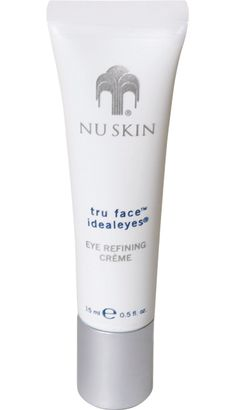 Tru Face IdealEyes Transforms your sensitive under eye area from dark, puffy, and aged to radiant, firm, and youthful. Nu Skin, Beauty Skin, Health And Beauty, Galvanic Body Spa, Puffy Eyes, Anti Aging Skin Care, Face Care, Face And Body, Skin Products