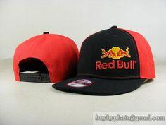 Red Bull Snapback Hats Adjustable Cap Black/Red (New Era) 013