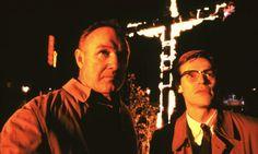 Gene Hackman and Willem Dafoe in Mississippi Burning (1988)