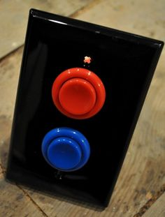 Funny pictures about Arcade light switch. Oh, and cool pics about Arcade light switch. Also, Arcade light switch photos. Hm Deco, Arcade Buttons, Game Buttons, Tech Room, Nerd Cave, Man Cave Ideas Nerd, Nerd Geek, Deco Retro, Gamer Room