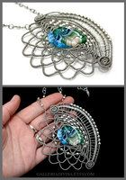 Mermaid Scales brooch-pin by ~Faeriedivine on deviantART