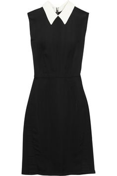 Miu Miu|Washed-satin dress|NET-A-PORTER.COM