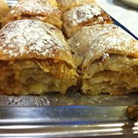 Croatian apple-walnuts / cottage-cheese strudel (Strukli) by Ana Kukec