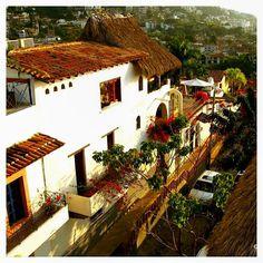 Hacienda San Angel, calle Miramar, Puerto Vallarta http://www.puertovallarta.net/index-esp.html #vallarta #puertovallarta #mexico #travel #beach #tourism