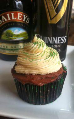 St. Patrick's Day: Irish Car Bomb Cupcake Recipe