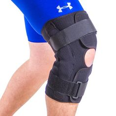 Techware Pro Knee Compression Sleeve Best Brace With Side Stabilizers &... Health & Beauty