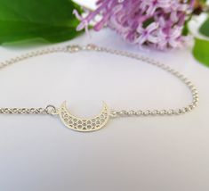 How To Make Silver Bracelets Simple Bracelets, Silver Bracelets, Silver Ring, Silver Earrings, Moon Jewelry, Gemstone Jewelry, Family Tree Necklace, Jewelry Shop, Etsy Jewelry