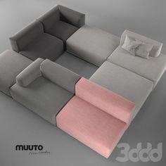Muuto ANDERSSEN VOLL Connect sofa system