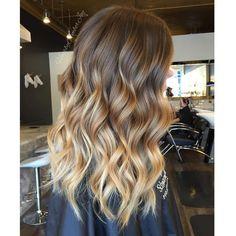 "Amber Joy Rogan on Instagram: ""Honey Blonde Colormelt """
