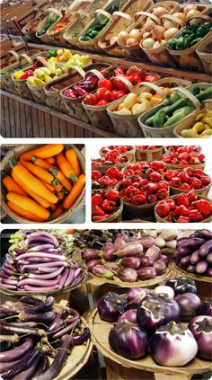 Nashville's Farmers' Market offers a variety of seasonal, locally grown produce. #nashville #tennessee #travel