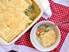 Vegetable Pot Pie -- Yummy, yummy, comfort food for my tummy =)