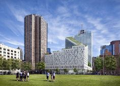 TEN Arquitectos NYC Tower with a Stepped Green-Roof + podium courtyard?