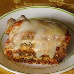 Italian Sausage and Mushroom Lasagna with Bechamel Sauce Recipe - Allrecipes.com