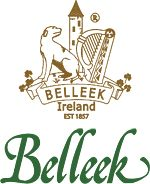 This is the Logo of the Belleek Pottery company, makers of fine parian china established in 1857 in the village of Belleek in Northern Ireland.